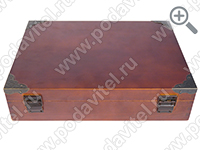 The acoustic ultrasonic safe SPY-box Casket-3 GSM-P - rear view